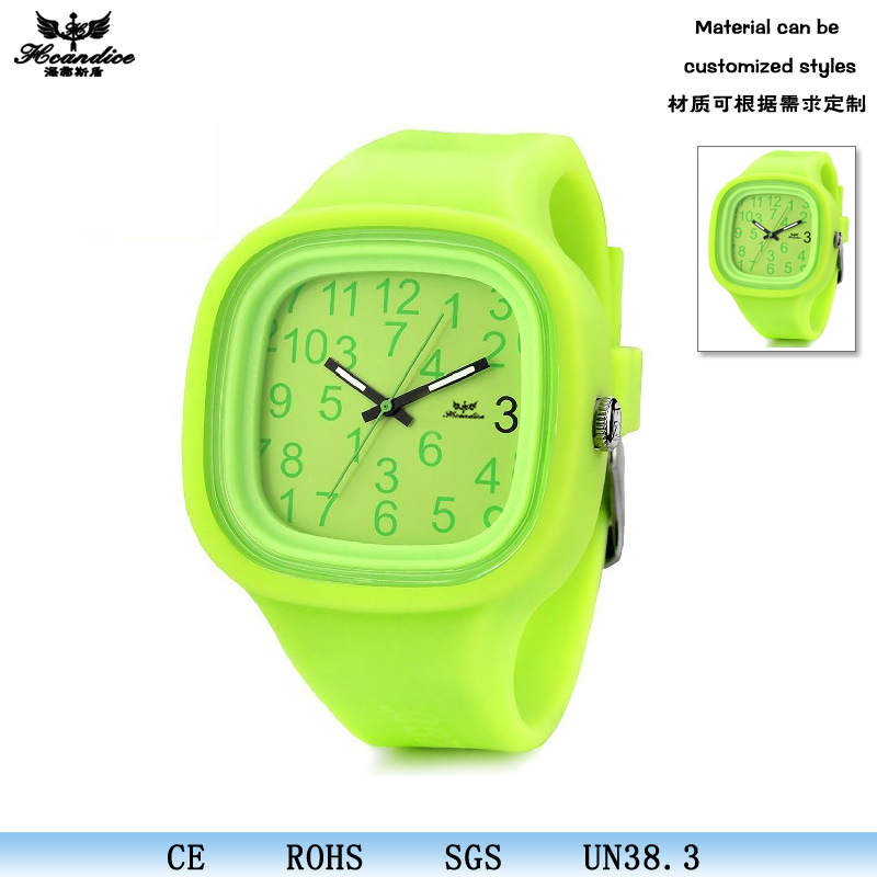 Dropshipping quartz advance xxxcom watch silicone clock water resistant