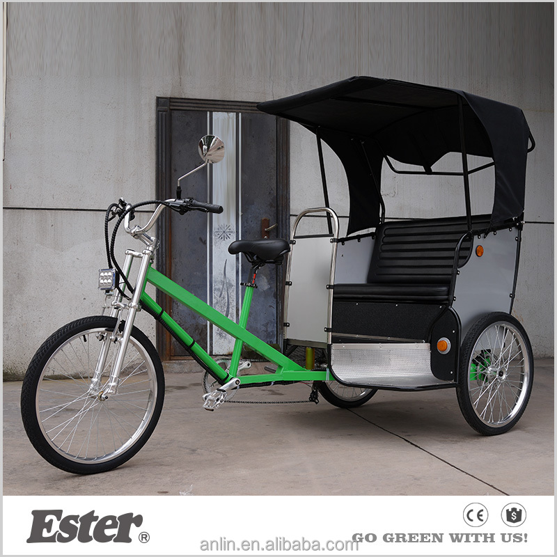 Chinese CE Certification rear auto ESTER high quality rickshaw for sale