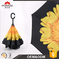 Top selling 2017 new design upside down umbrella and reverse umbrella or inverted umbrella
