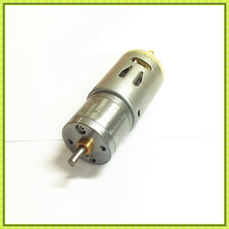 Good quality 25mm small low rpm high torque 12 volt gear for 12 volt high torque motor