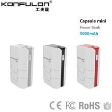 Konfulon Power Bank suppliers New Design 26650 li-ion for Smart Phone Dual USB best selling products electronics