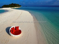 Outdoor Leisure Chaise Lounge Sunbed for Beach