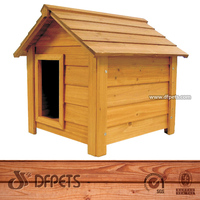 Dog Kennel Wooden Pet House Puppy New Outdoor House 3 sizes Wood Easipet DFD010