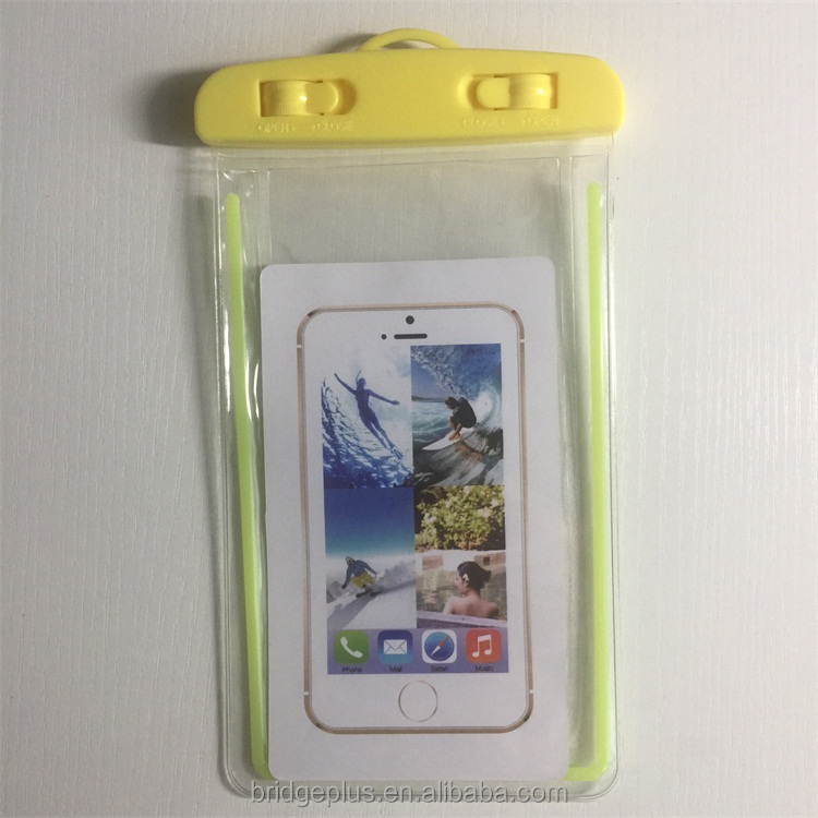 Wholesale cheap high quality swim waterproof cell phone bag