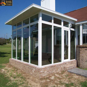 Top quality green nature glass house and winter garden