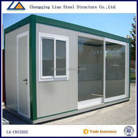 China luxury steel structure prefabricated Living container houses