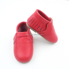 Shoes Wholesalers Manchester UK Fashion Hard Sole 100% Red Leather Wholesale Toddler Shoes