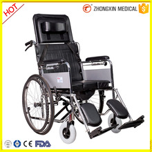 foldable toilet commode wheelchair