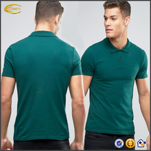 Ecoach high quality soft jersey 95% Cotton 5% Elastane polo collar mens slim fit Pique wholesale custom polo shirt