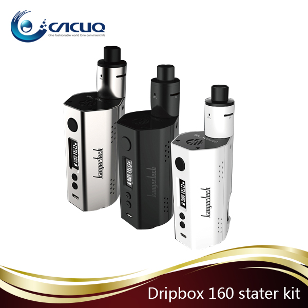 Authentic Kanger Dripbox 160 kit/ kanger dripbox 160w starter kit with Notch Coil from Cacuq