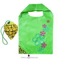 Top quality polyester reusable shopping small customised tote bag