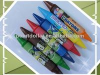 8-color Double Crayons, different colors