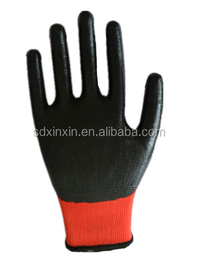 western safety cheap rubble coated work durable <strong>glove</strong> for worker