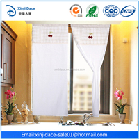 Alibaba good quality embroidery elegant arabic curtain design in 2014
