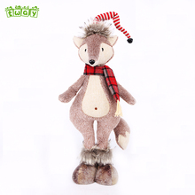 19''China wholesale cute hot sale cheap fox girl plush lovely doll soft toys