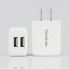 Chrismas Gift Premium Travel Charger 5V 2.1A Dual USB US Electric Charger