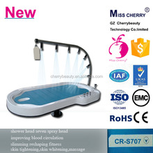 water flow adjustment water shower massage bed capsule machine infrared spa capsule