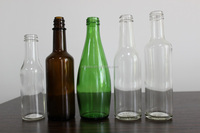 300ML/330ML CLEAR/AMBER/GREEN BEER OR BEVERAGE DRINKING GLASS BOTTLES