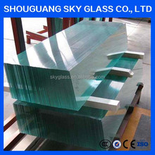 4mm 5mm 6mm 8mm 12mm float glass with price m2 for buildiing