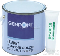 rubber coating spray for car Genponi Polyester Putty
