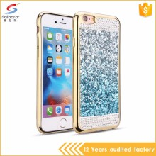 Guangzhou wholesale latest design electroplating diamond for i phone7 phone case