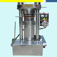 Hydraulic coconut oil press machine/coconut oil making.