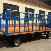 Hot Selling Tri Axle Flatbed Trailer