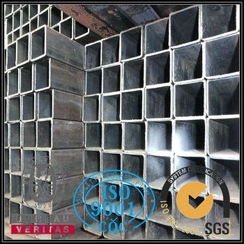 Prime steel grade astm a36 rectangular tube in China