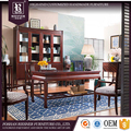 Customizable latest wooden furniture designs , high end soild wooden classic office furniture set