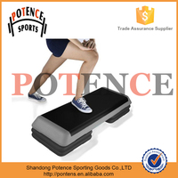 Fitness step board plastic aerobic exercise stepper