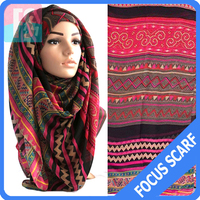 aztec tribal fashion muslim hijab arabic style