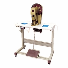 Electric semi automatic snap button fixing machine