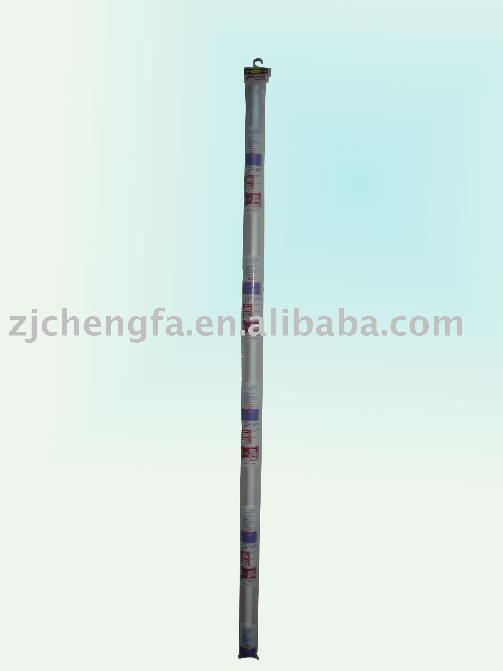 aluminum telescopic shower curtain pole