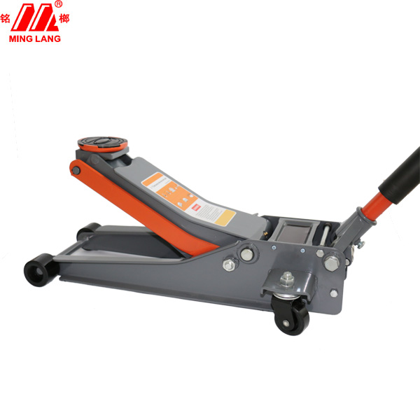 high qulity PU wheel 3 ton hydraulic floor jack garage jack