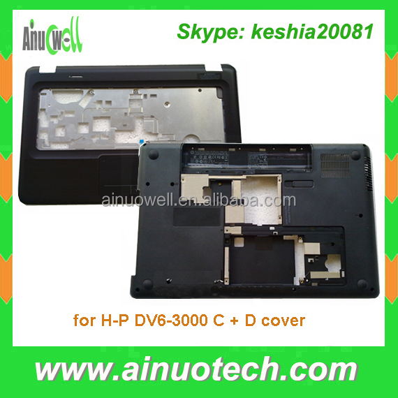 Replacement laptop C cover for HP DV6-3000 laptop bottom cover A/B/C/D cover hinge