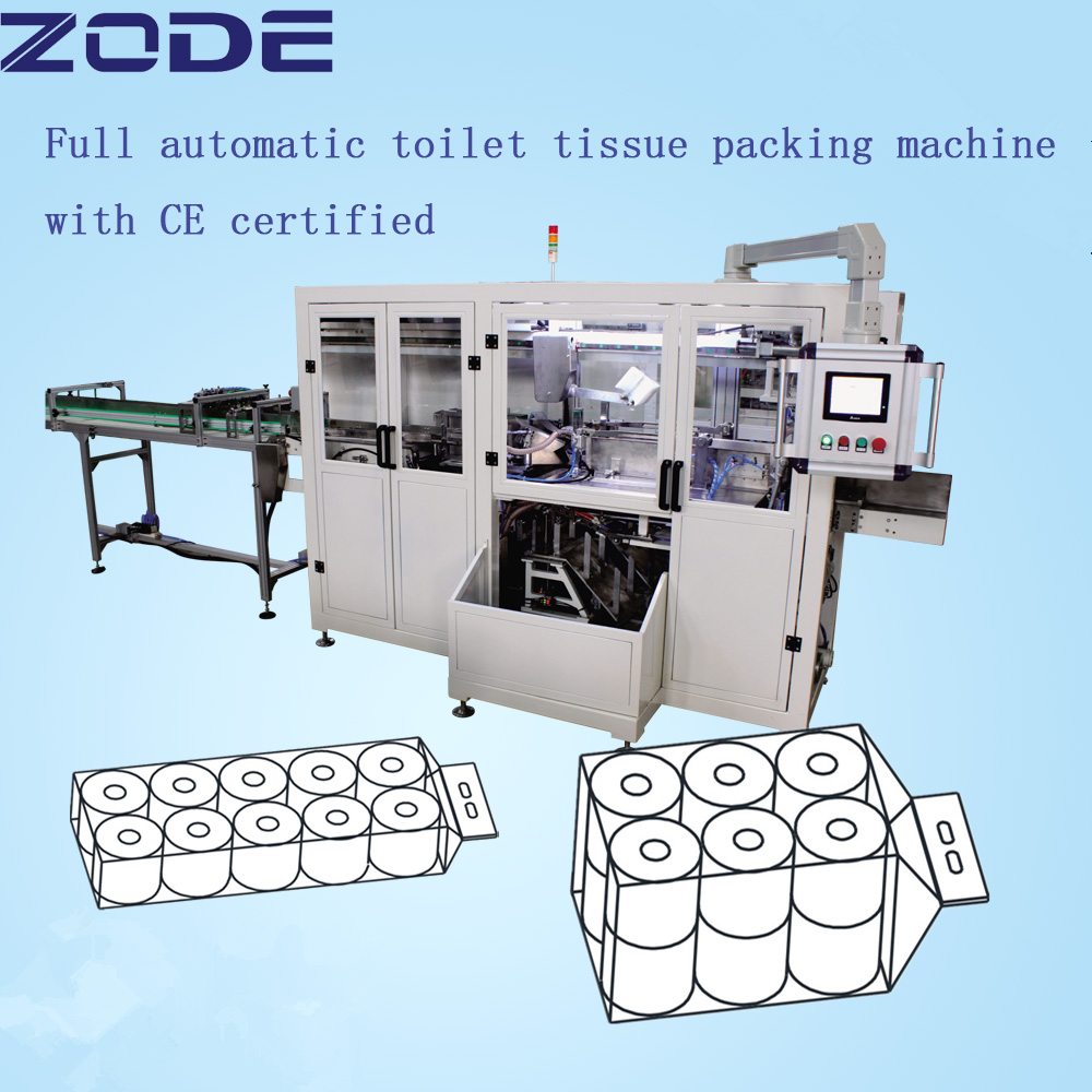 CE certification paper towel tissue making machine/paper towel tissue packaging machine price