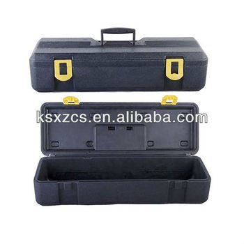 Blow molding plastic custom carrying cases
