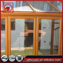 China very good supplier wood glass door design with professional engineers team DS-LP6431