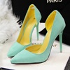 2016 New Fashion Color Style High Heel Shoes Women Shoes