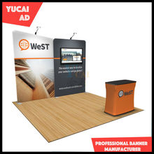 Stretch Tension Fabric Exhibition Backdrop Display