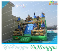 Factory Price Inflatable Slide ,Giant Inflatables ,Medival Theme Inflatable Toys For Adult Play