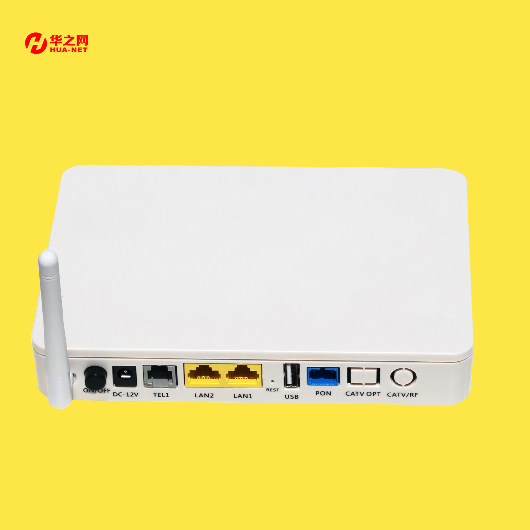 onu gpon catv wifi xpon ont compatible with huawei olts and wifi voice function