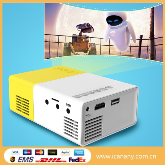 Hot Selling Home Theater projector small LED LCD 320*240 Video Game Android Projector