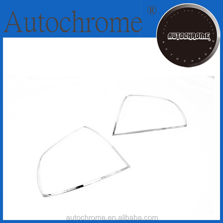 Factory price car auto exterior accessories, chrome tail lamp cover - for Hyundai Accent / Verna