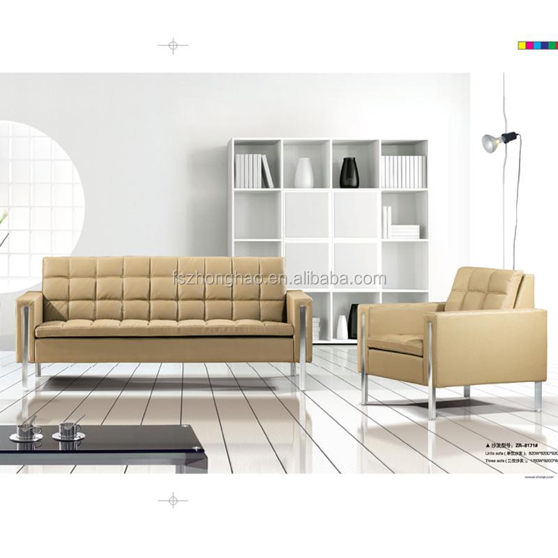 Classic Home Office Sofa Reception Leather Sofa Furniture