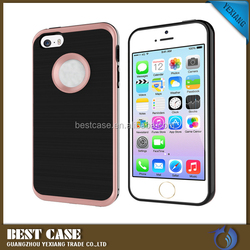 Motomo Brushed TPU PC Hybrid Fancy Mobile Phone Case For Iphone 5C
