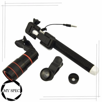 2017 New latest zoom telephoto travel camera phone lens kit