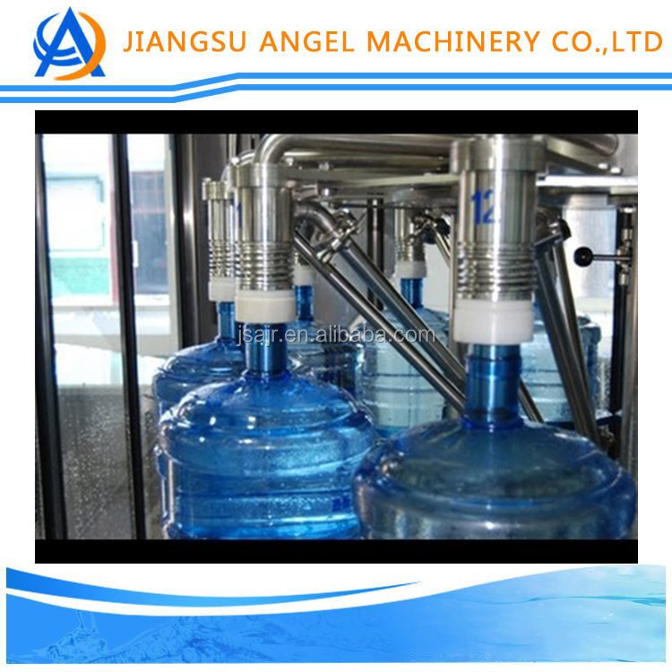 Full automatic 5 gallon pure water bottling machine/3 gallon water filling production line/washing filling capping machine
