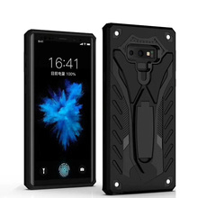 2018 hot selling phone case and accessories hybrid tpu pc case for samsung note 9 with kickstand cover
