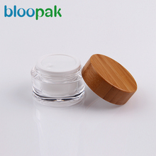 5g 10g 15g 20g 30g 50g 100g cosmetic packaging bamboo cosmetic jars